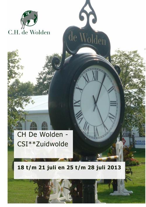 CH De Wolden - CSI** Zuidwolde