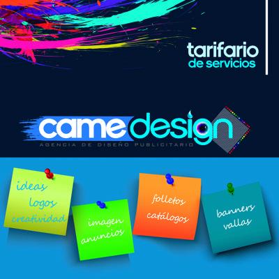 TARIFARIO CameDesign