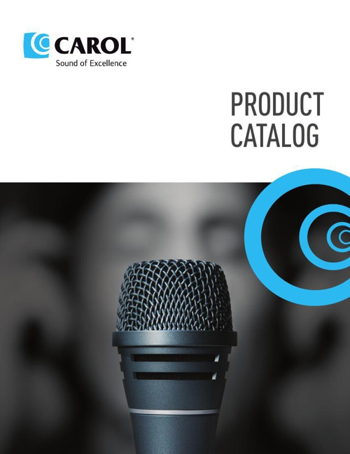 Carol Microphone Catalog