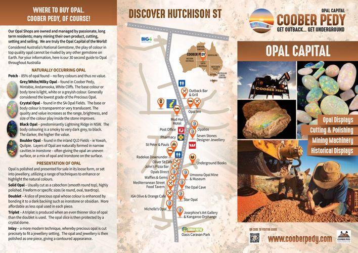 Coober Pedy Opal Summary