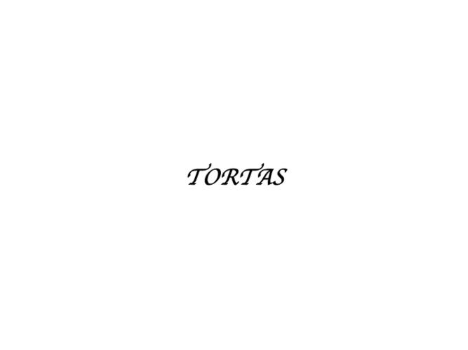 CATALOGO DE TORTAS