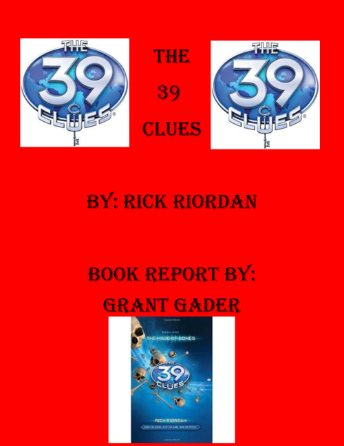 39 Clues By Grant