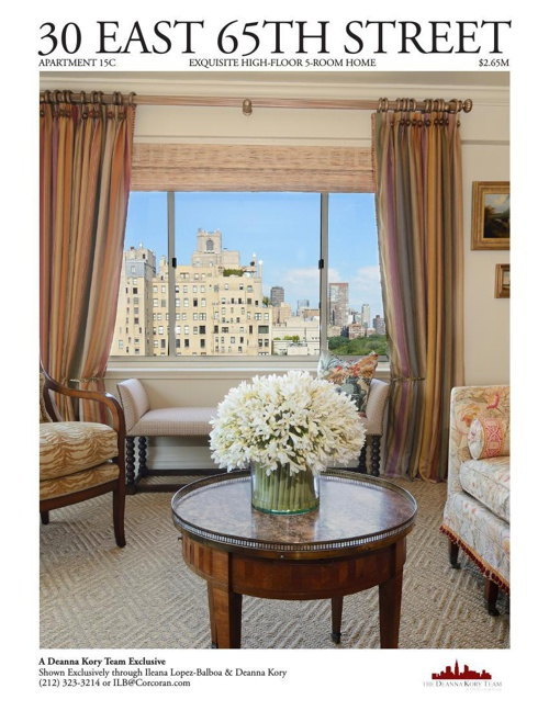 30 East 65th Street Apt. 15C Brochure