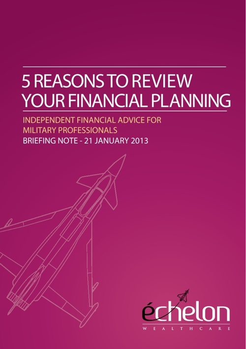 5 reasons to review your financial planning.