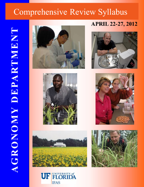 UF Agronomy Review
