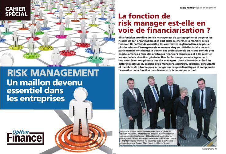 """Table Ronde- Risk Management  """"La fonction de risk manager est-e"""