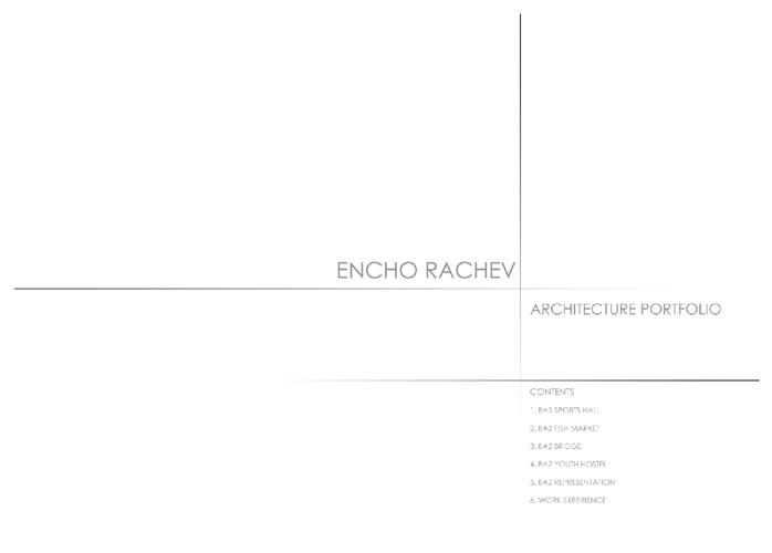 Encho Rachev Portfolio  enchorachev@gmail.com