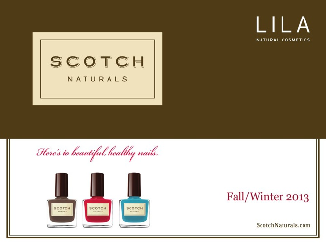 Scotch Naturals Fall/Winter 2013