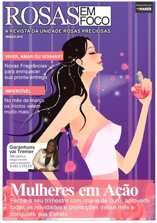 Revista Rosas em Foco - Mar16