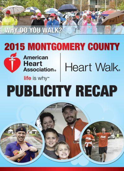 Montgomery County Heart Walk - Recap Booklet