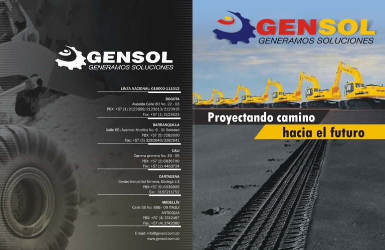 Gensol Cataloge