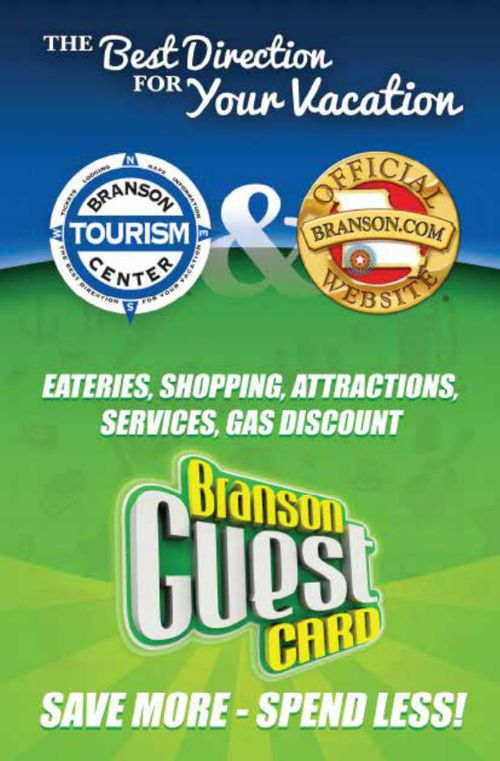 Branson Guest Card - First Book