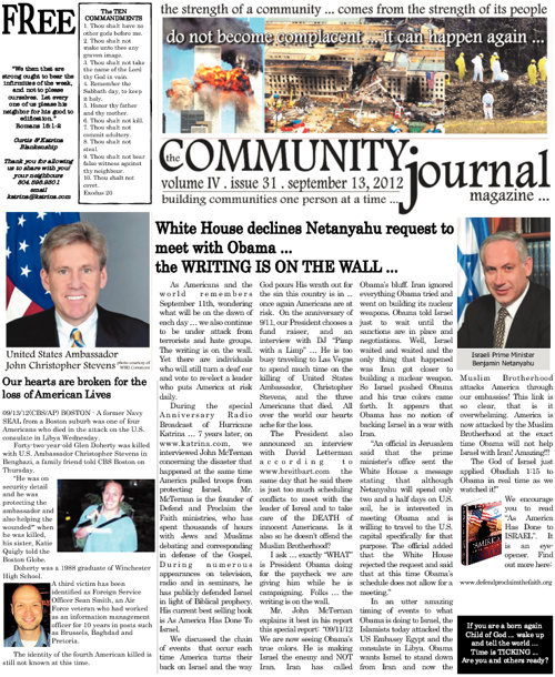 The Community Journal Magazine - September 13, 2012