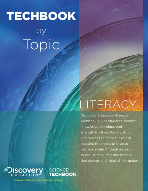 Discovery Education Science Techbook by Topic — Literacy