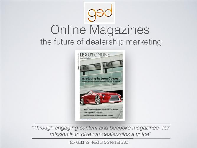 Lexus Online Survey