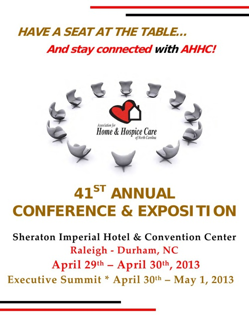 AHHC's 41st Annual Conference & Expo Brochure