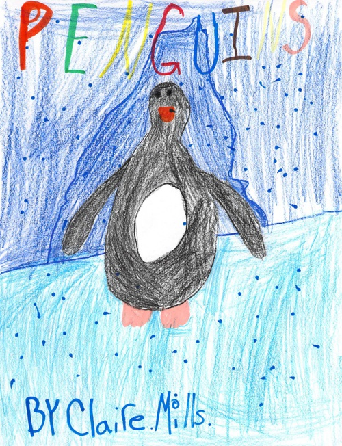 Penguins by Claire
