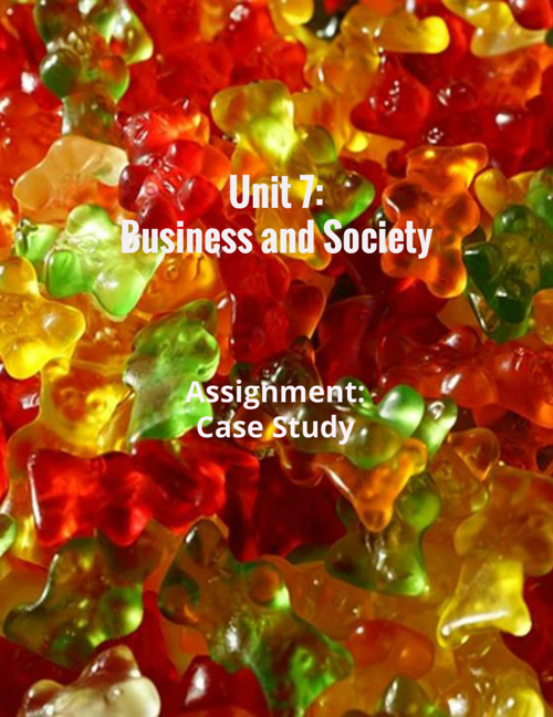 Unit 7: Business and Society