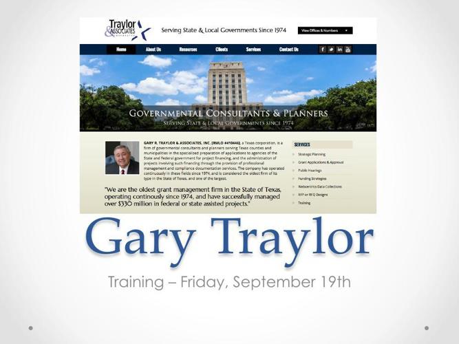 GaryTraylorTraining