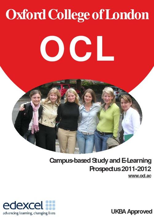 OCL Prospectus 2011-2012