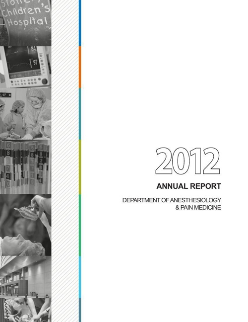 Anesthesiology Annual Report 2012