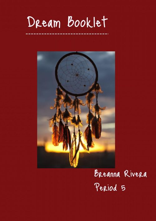 breanna's dream booklet