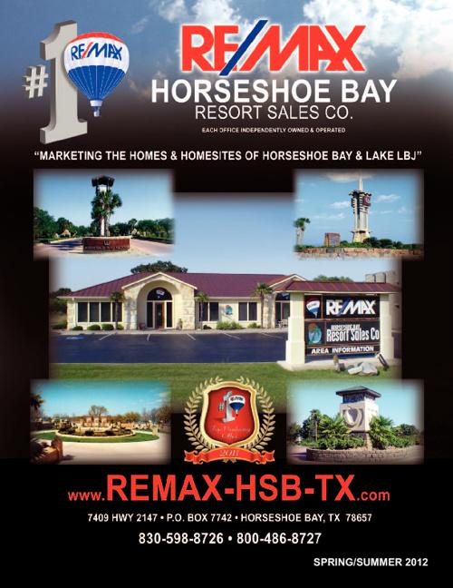 Remax Horseshoe Bay Housing Brochure