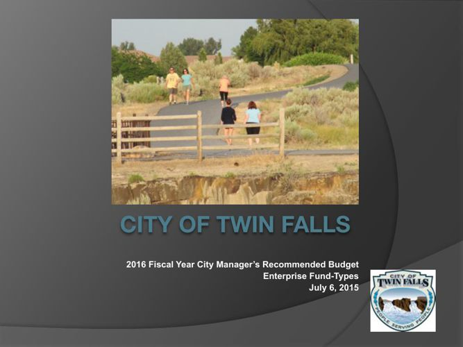 City Council - FY 2015 Recommended Budget Presentation - July 13