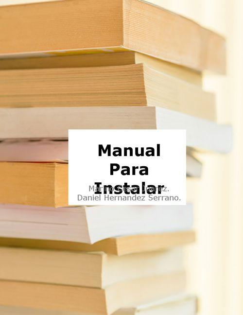 Manual para instalar Avast.
