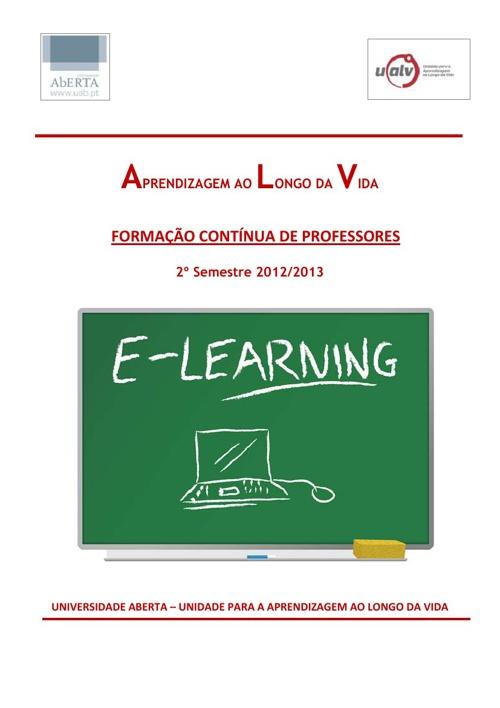 Cursos e-learning - Formação Contínua de Professores