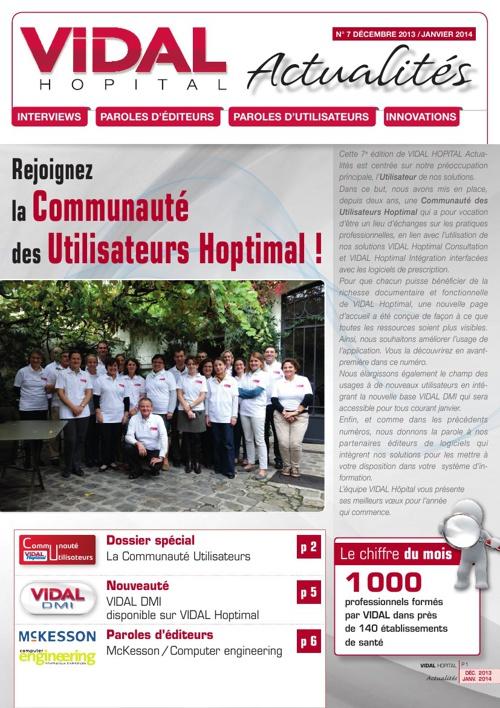 VIDAL Hôpital Actualité