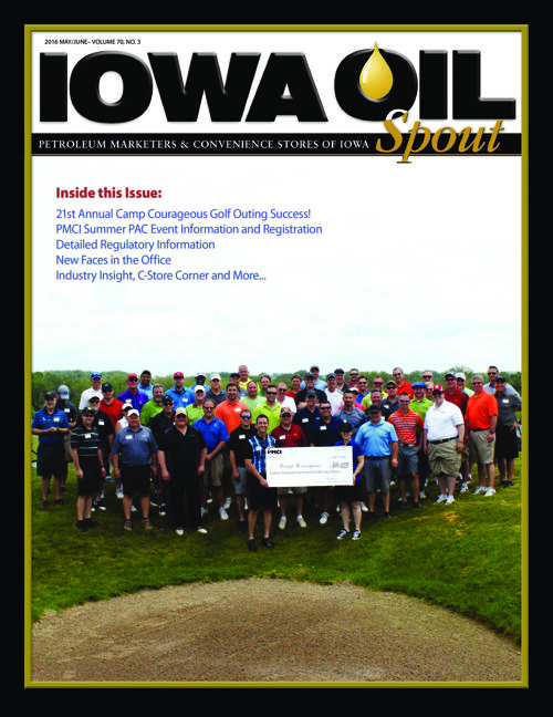 2016 Iowa Oil Spout - May June