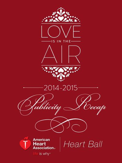 2015 Houston Heart Ball Recap Booklet