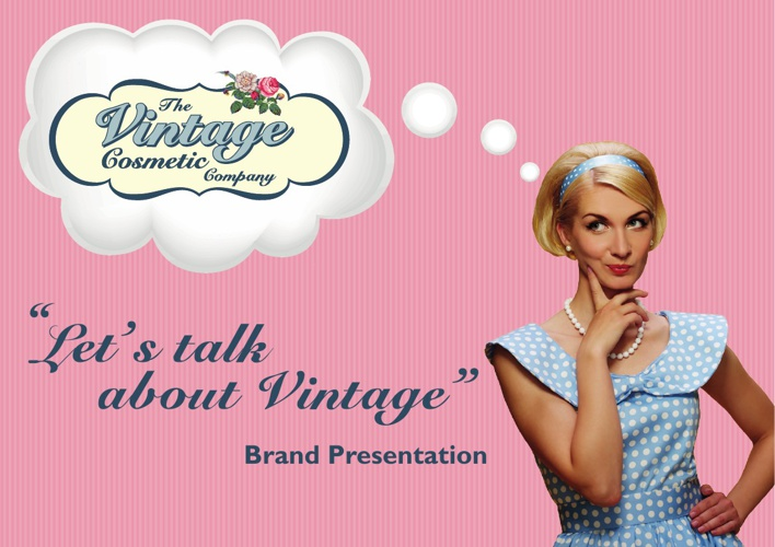 Welcome to The Vintage Cosmetic Company