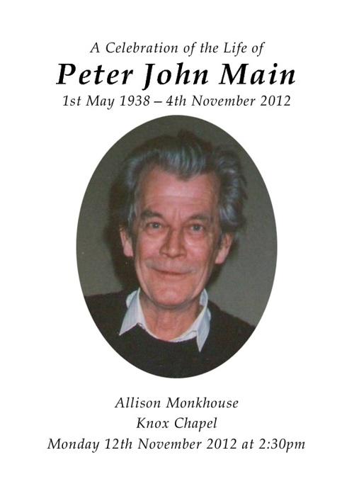 Peter Main
