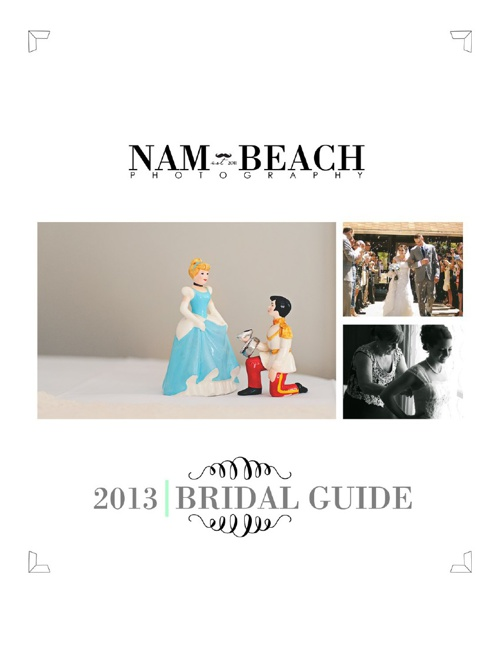 Nam Beach Photography 2013 BRIDAL GUIDE