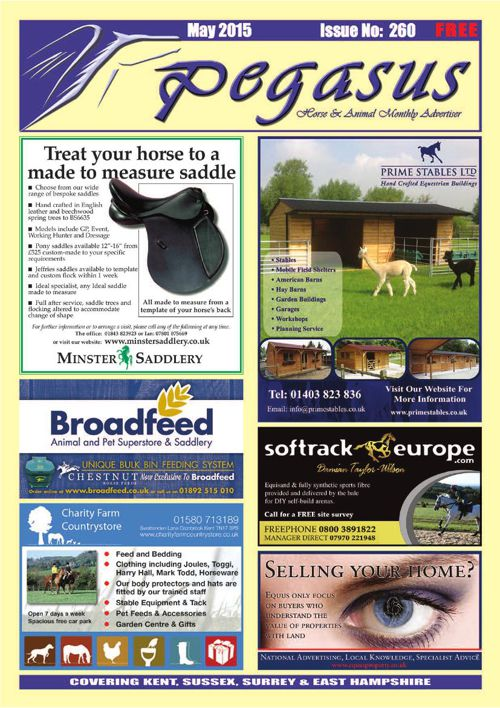 Pegasus May 2015 online issue