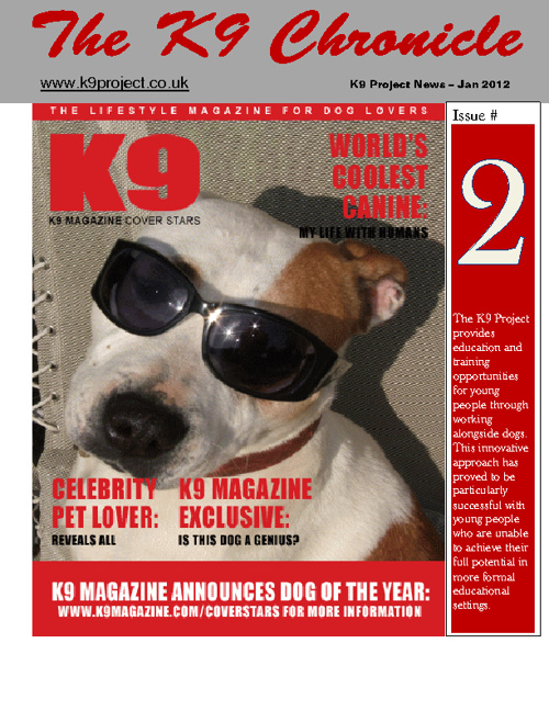 K9 Chronicle Jan 2012