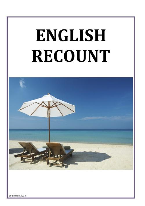 English Recount