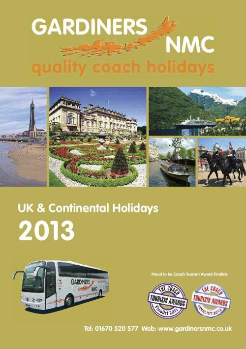 Gardiners NMC 2013 Brochure