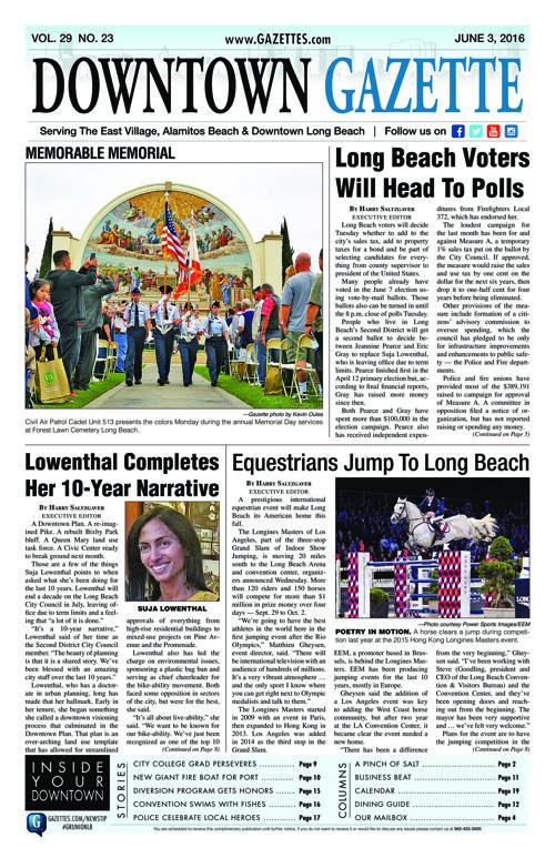 Downtown Gazette     June 3, 2016