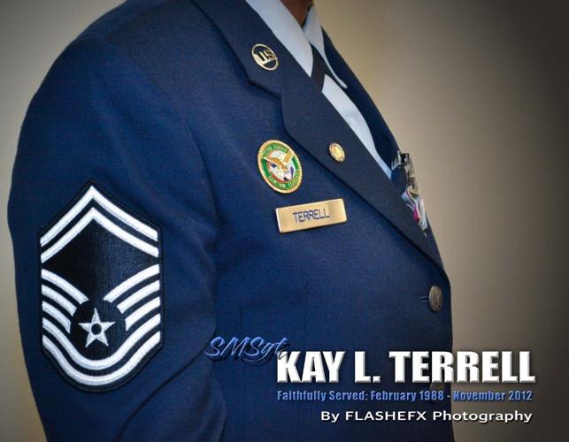 SMSgt Kay Terrell Retirement