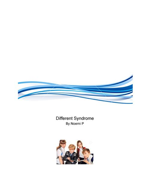 Different Syndrome