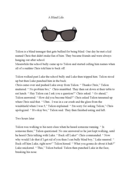 A Blind Life
