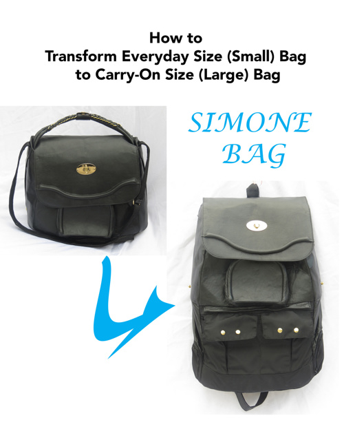 Simone Bag transformation