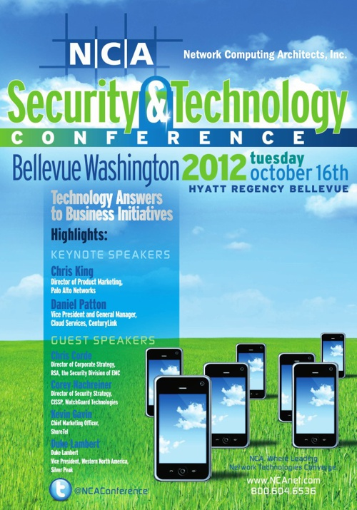 NCA Security & Technology Conference - 2012 - Bellevue, WA