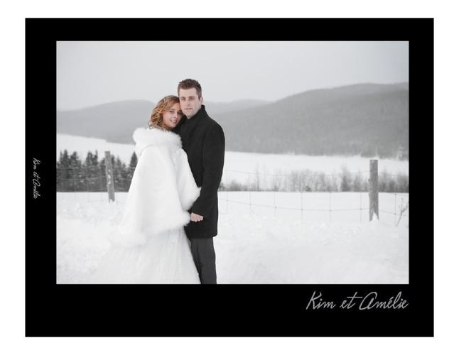 Livre photo de mariage de Kim et Amélie