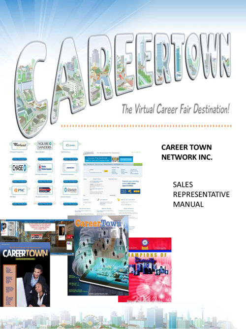 Career Town Sales Manual