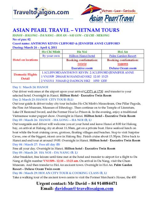 Copy of WELCOME TO VIETNAM
