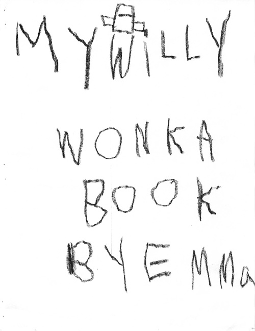 My Willy Wonka Book